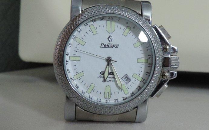 Мужские наручные часы Рекорд