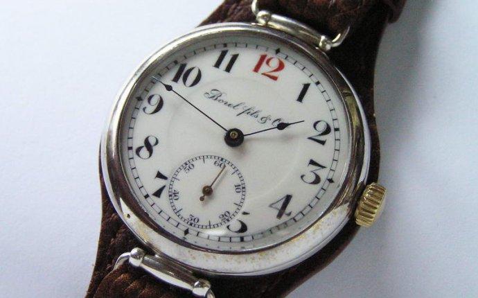 Наручные часы в антиквариат