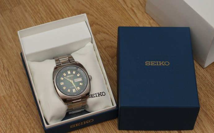 Seiko SNKM97. Зеленый позитив