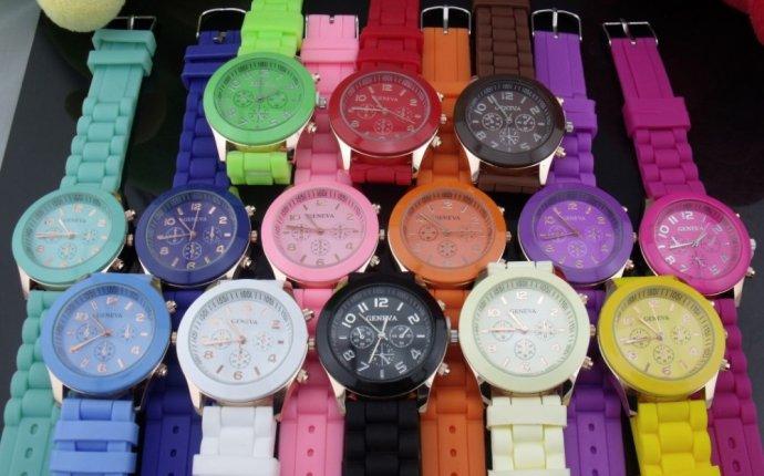Женские цветные часы цена 280 руб