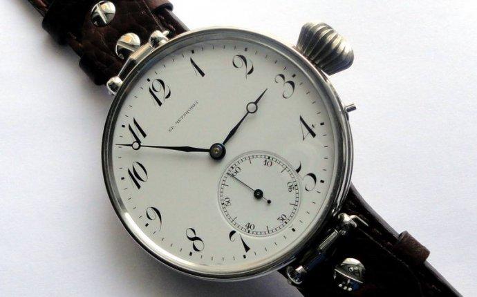 Золотые русские часы